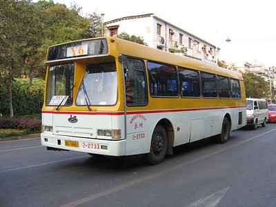 Hangzhou bus A74461 Oct 04