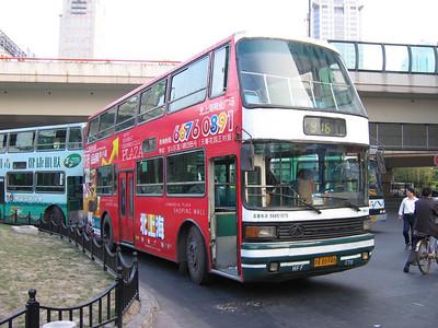 Shanghai bus A86946 Remnin Park 1 Oct 04