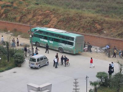 Hangzhou Yutong Bus Arrival Oct 04