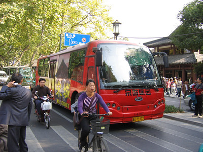 Hangzhou bus A75972 Oct 04