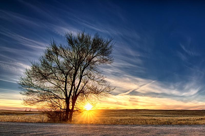 Eastern Colorado Sunset