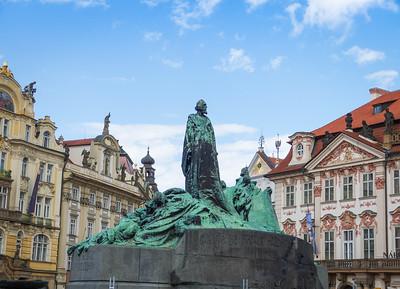Jan Huss, Prague