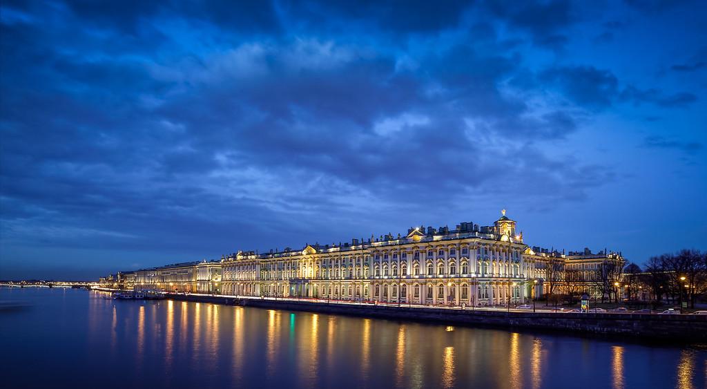 Hermitage Museum in Saint Petersburg Russia