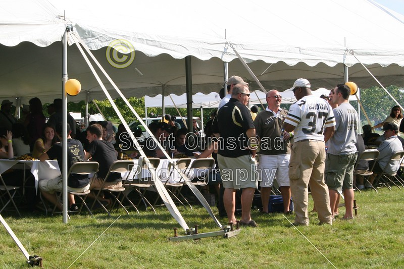 Army Tailgate - September 5, 2009 - The Cadets of Army at the Eagles of Eastern Michigan