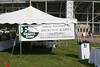 The EGG Tailgate tent - September 5, 2009 - The Cadets of Army at the Eagles of Eastern Michigan
