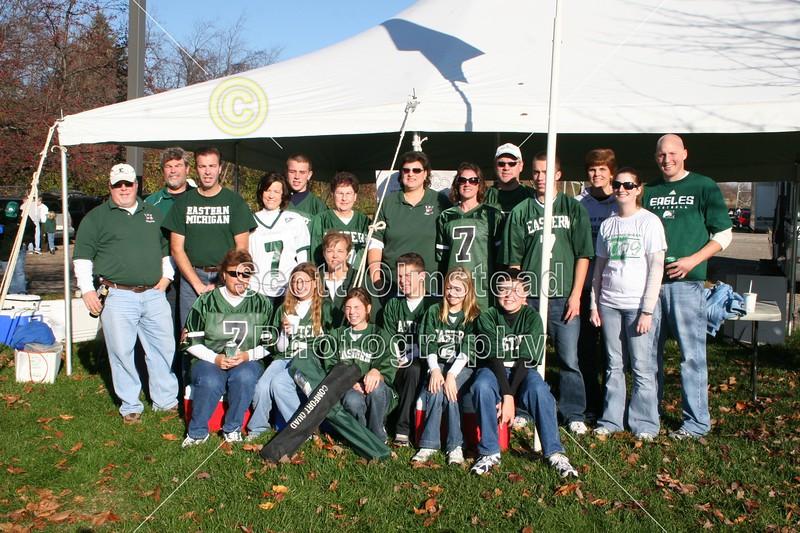 November 14, 2009 - Senior Day - Western Michigan Broncos at Eastern Michigan Eagles