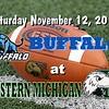 Saturday, November 12, 2011 - University at Buffalo Bulls at The Eastern Michigan Eagles for Senior Day