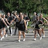 The Cadet Cheerleaders of West Point - September 4, 2010 - The Black Knights of Army from West Point at the Eagles of Eastern Michigan University