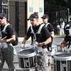 The Cadet drum corps of West Point - September 4, 2010 - The Black Knights of Army from West Point at the Eagles of Eastern Michigan University