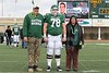 (78) Eric Davis, an offensive lineman from Southgate, Michigan, on Senior Day, Friday, November 26, 2010 - <br /> Thanks Eric!