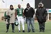 (9) Tyrone Burke, a wide receiver from Syracuse, New York, on Senior Day, Friday, November 26, 2010 - <br /> Thanks Tyrone!