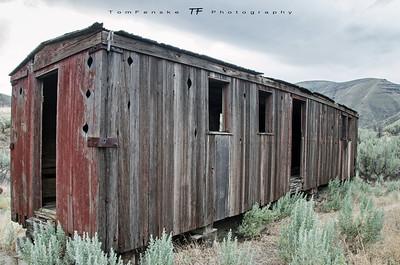 Abandoned Boxcar