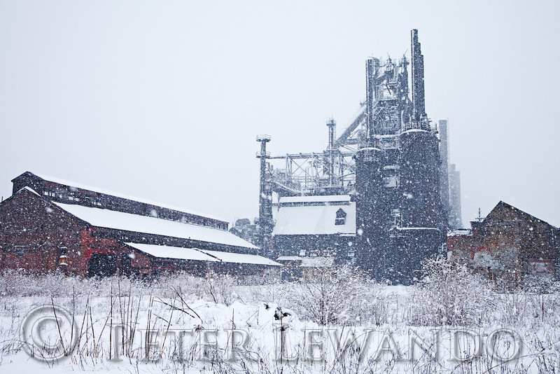 Blast Furnace Snow Storn