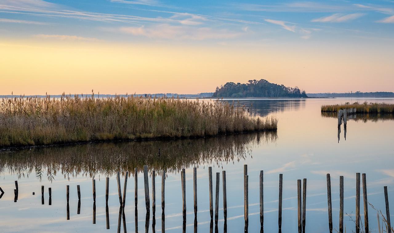 Black Water refuge sunrise
