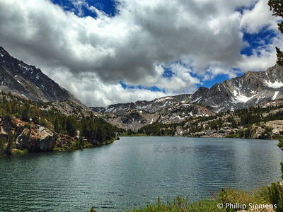 Long Lake, Bishop Pass trail
