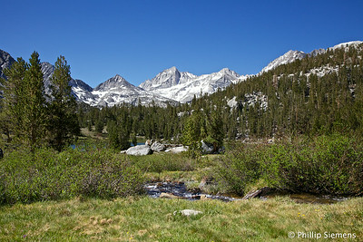 Heart Lake with Bear Creek Spire