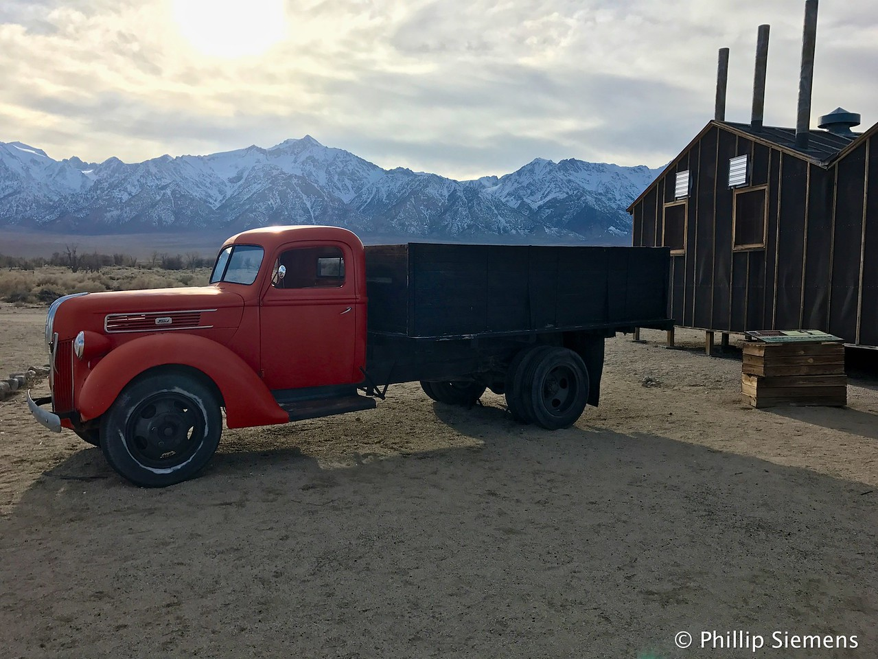 Old truck at Manzanar