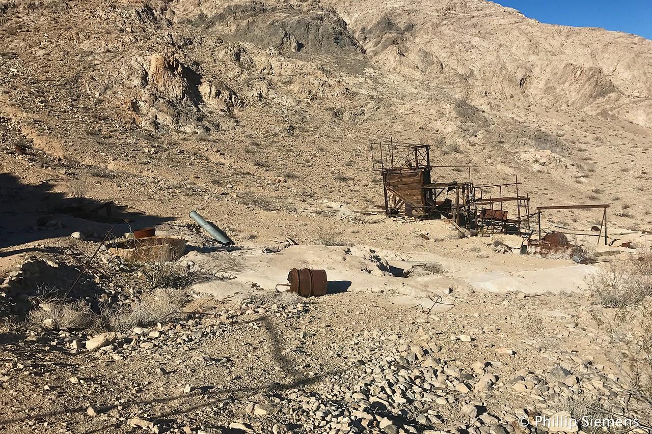 Part of the Minietta mine