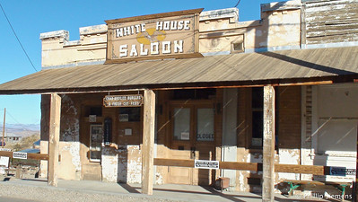 White House Saloon in Randsburg