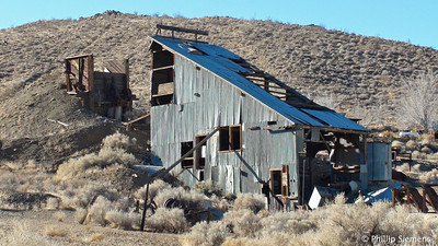 Old mine on outskirts of Randsburg
