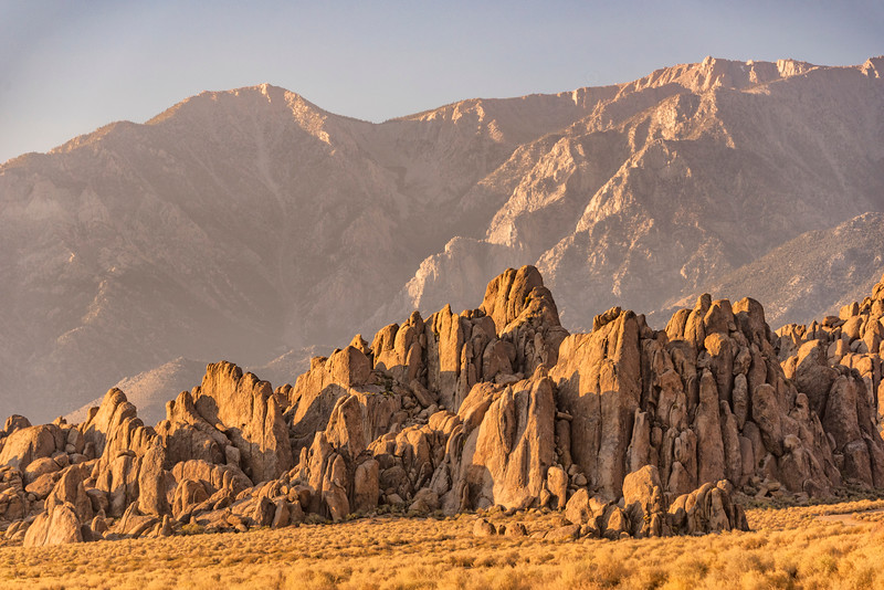 057-Rocks Lined up against Mountains-SRA_7158