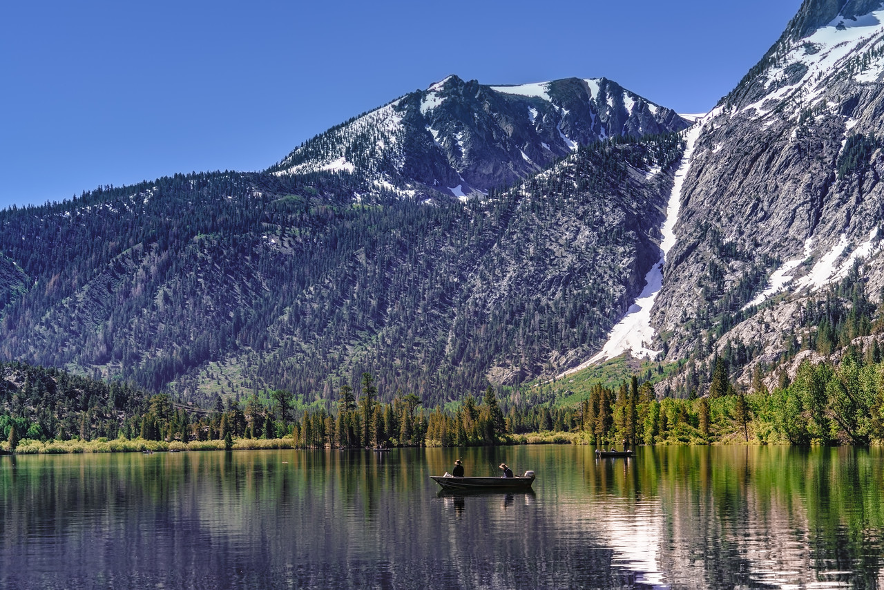 Grant Lake in June