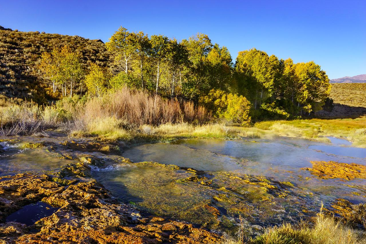 Hot Springs near Brideport CA