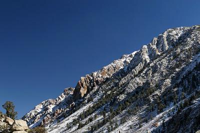Highway 168, Eastern Sierra Nevada Mountains, California