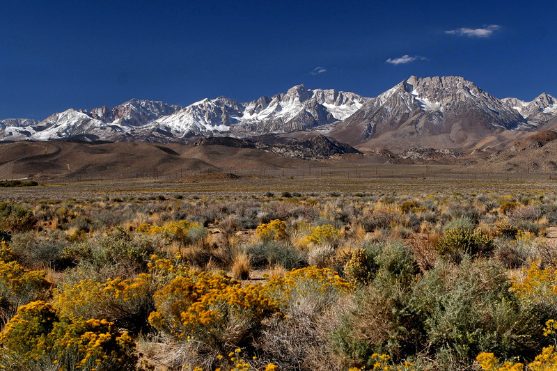 Eastern Sierra Nevada Mountains, Bishop, California