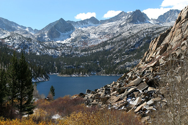 South Lake, Eastern Sierra Nevada Mountains, California