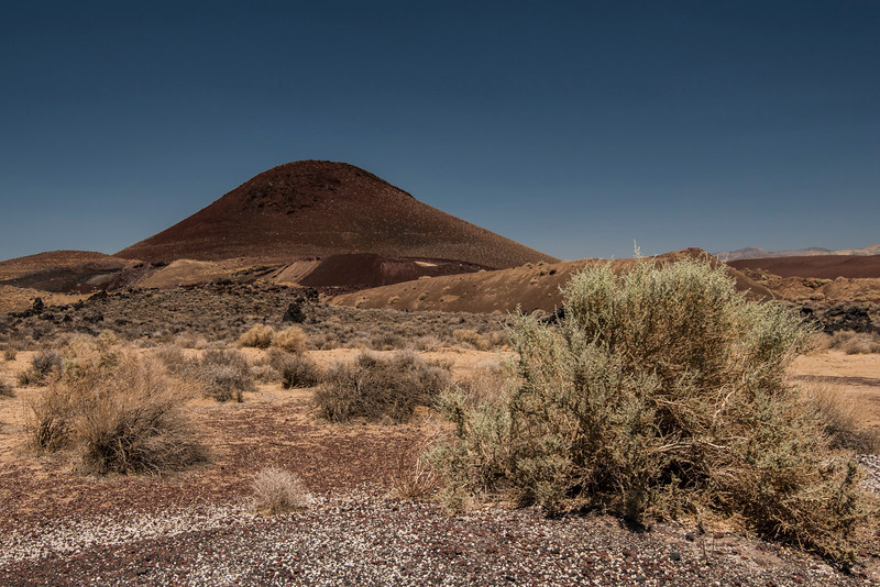 Cinder Cone off 395 near Little Lake and Fossil Falls picnic area