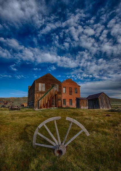 Bodie Wagon Wheel Photo