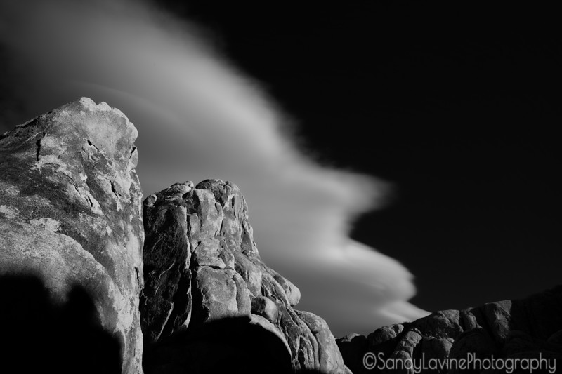 Alabama Hills Cloud Contrast