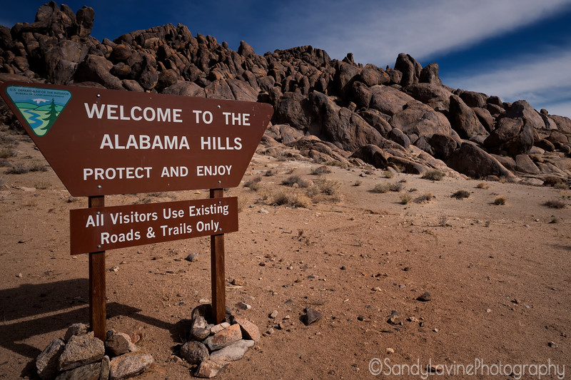 Welcome To The Alabama Hills