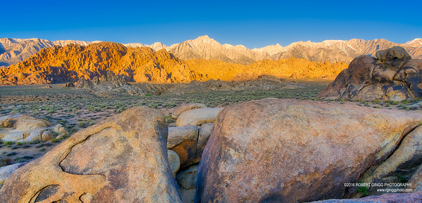 Early Morning in the Alabama Hills