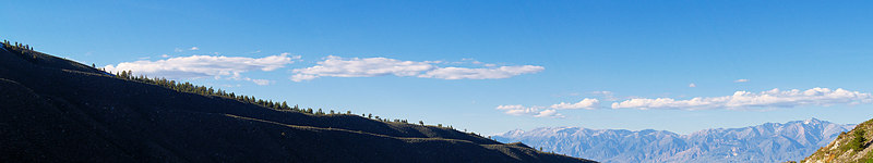 """Bishop Creek Moraine, White Mountains  <a href=""""http://www.dbdimages.com/photos/75486023_U5vxr-O.jpg""""TARGET=""""blank"""">View large in another window.</a> Use your viewer's zoom function if necessary."""
