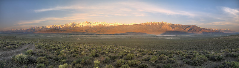 "Palisades Sunrise Panorama  <a href=""http://www.dbdimages.com/photos/76123562_ZFypB-O.jpg""TARGET=""blank"">View large in another window.</a> Use your viewer's zoom function if necessary."