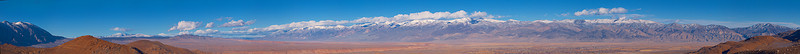 """Wheeler Crest (far left) and the White Mountains from the Tungsten Hills  <a href=""""http://www.dbdimages.com/photos/896094112_KCcrC-O-1.jpg""""TARGET=""""blank"""">View large in another window.</a> Use your viewer's zoom function if necessary."""