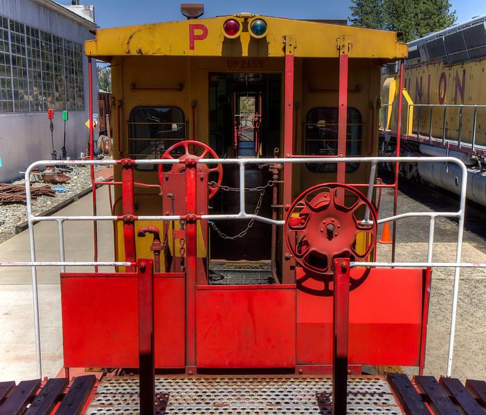 Western Pacific Railroad Museum, Portola, California