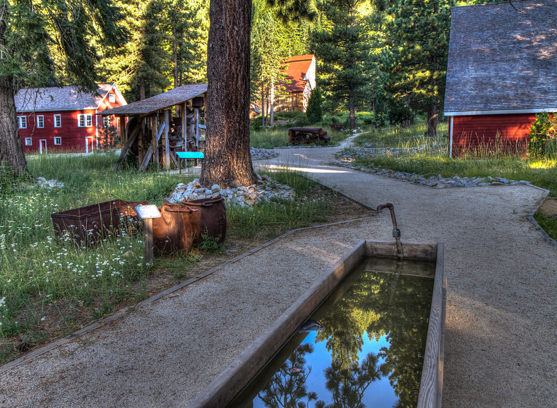 The Mohawk Mill, Plumas - Eureka State Park