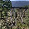 Union Pacific Railroad, Clio trestle on the Feather River Route