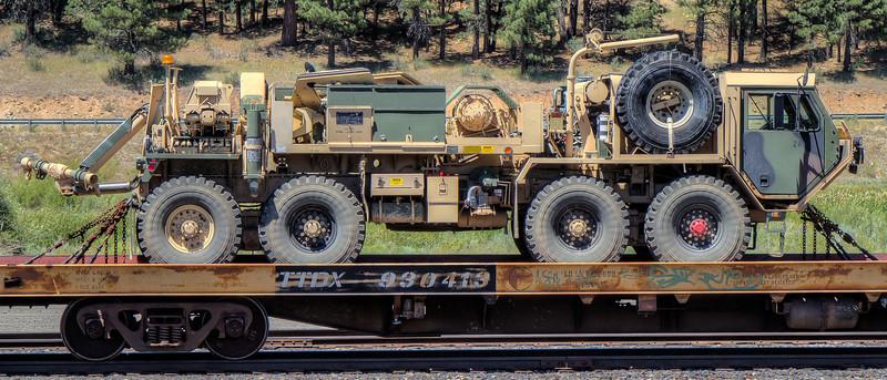 Union Pacific Railroad, Portola, California