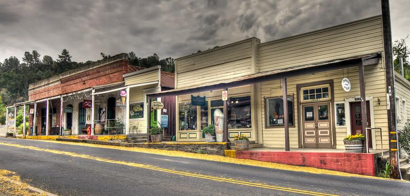 Main Street, Amador City, California