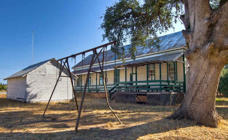 Old Shenandoah School House, Plymouth, California