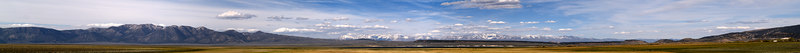 """Lake Crowley Afternoon Panorama Glass Mountain and the White Mountains on the skyline.  <a href=""""http://www.dbdimages.com/photos/76344657_53oBG-O.jpg""""TARGET=""""blank"""">View large in another window.</a> Use your viewer's zoom function if necessary."""