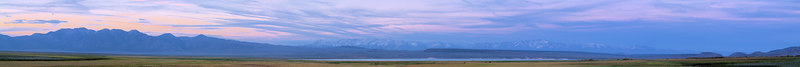 """Lake Crowley Sunset Panorama Glass Mountain and the White Mountains on the skyline.  <a href=""""http://www.dbdimages.com/photos/76344595_aXP5G-O.jpg""""TARGET=""""blank"""">View large in another window.</a> Use your viewer's zoom function if necessary."""