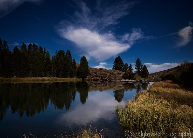 Dynamo Pond on Green Creek