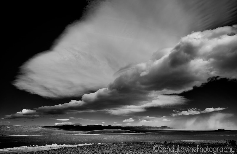 Storm Front Over Mono Lake
