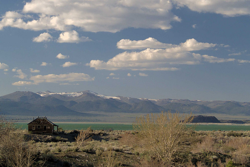 Old House on Rush Creek,<br /> Mono Lake, Paoha Island<br /> and the Bodie Hills