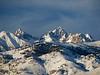 Mount Winchell - Mount Agassiz<br /> Winter Sunrise